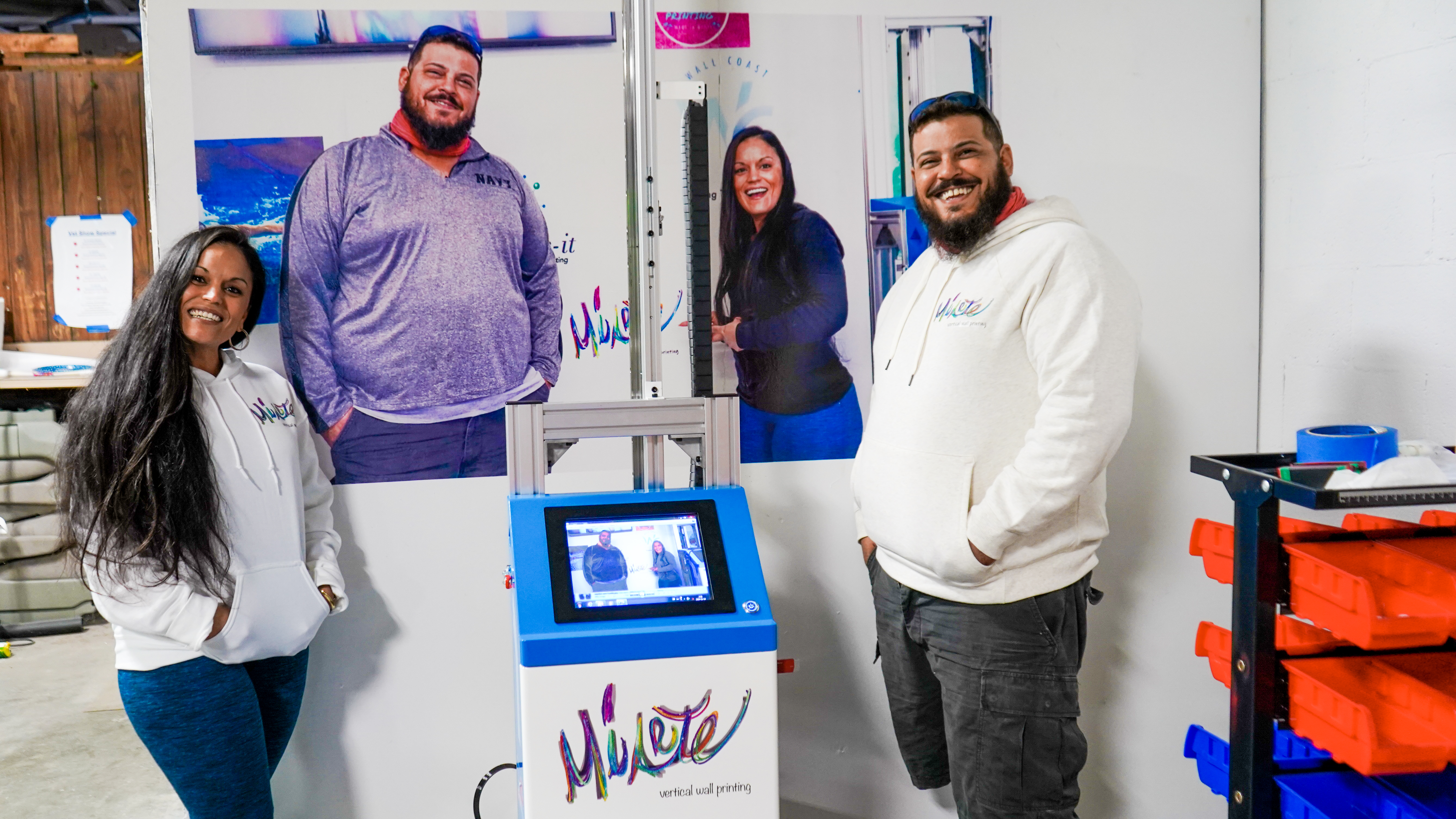 Ask a Business Owner: Why Choose The Wall Printer?
